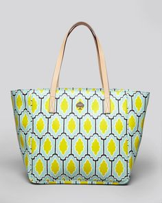 Kate Spade Tote Cabana Tile Sidney in Multicolor (sea glass) - Lyst