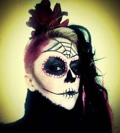 Sugar Skull Candy Flower https://www.makeupbee.com/look.php?look_id=92406