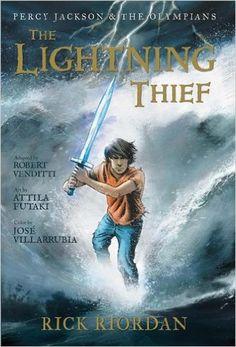 The Lightning Thief: The Graphic Novel (Percy Jackson & the Olympians, Book 1): Rick Riordan, Robert Venditti, Attila Futaki, Jose Villarrubia: 9781423117100: Amazon.com: Books