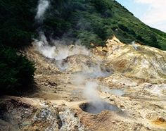 Sulfur Springs, the island's only remaining active volcanic zone - St Lucia Vacation Places, Dream Vacations, Southern Caribbean, Caribbean Vacations, Where To Go, Trinidad, Travel Inspiration, Travel Destinations, Beautiful Places