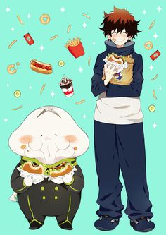 Leo y Nej (Kekkai Sensen) Anime Manga, Anime Art, Best Naruto Wallpapers, Blood Blockade Battlefront, Manga Games, Awesome Anime, Me Me Me Anime, Anime Characters, Movies