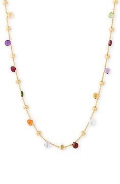 Marco Bicego 'Paradise' Single Strand Semiprecious Necklace available at #Nordstrom