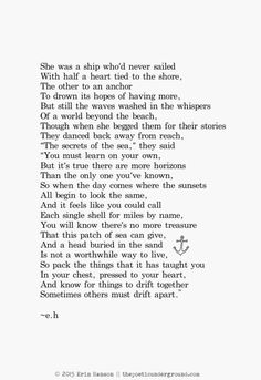 """""""Drift""""- Eric Hanson. thepoeticunderground.com #poem #poetry"""