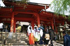 Twelve-layered ceremonial kimono,Kasuga Shrine