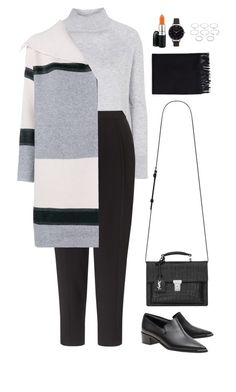 """Untitled #977"" by romane-inspiration ❤ liked on Polyvore featuring Topshop, Kin by John Lewis, Vince, Acne Studios, Yves Saint Laurent, Olivia Burton, Forever 21, MAC Cosmetics, women's clothing and women's fashion"