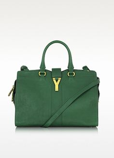Yves Saint Laurent Small Cabas Chyc Leather Tote | FORZIERI