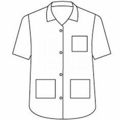 Landau 8059  STUDENT 2XL XXL Tunic scrub top v-neck collar pocket Uniform WHITE #Landau
