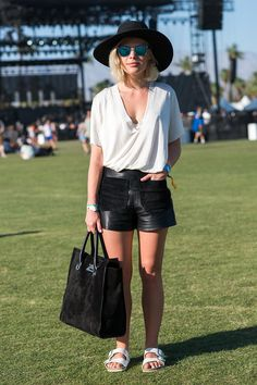 The Best Coachella Street Style  - ELLE.com