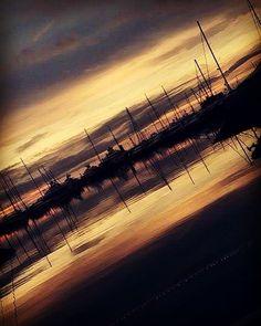 He is risen #thesun #sunrise #sun #love #goodmorning #mediterranean #sailboat #spring #sea #reflection #shadow #sky by sissdel