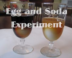 An Experiment with Egg and Soda