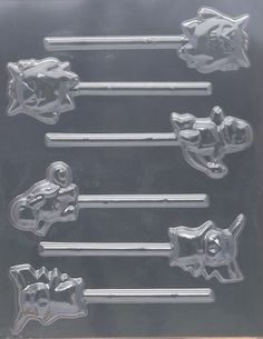 Pokemon Pikachu & Friends Chocolate Candy Mold Pokemon Pikachu & Friends Chocolate Candy Mold [CC52] - $2.50 : Cake and Candy Supplies , Streichs
