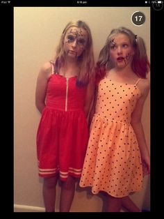 Me and my BFF on halloween