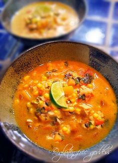 Sweet Potato and Roasted Corn Chowder