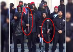 Members of Revolutionary Black Panthers Party Bring Loaded Weapons to Steps of NC Courthouse, Disarmed by SWAT