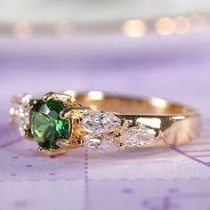 Emerald ring: $50