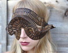"""A series of sculpture headpieces made by designer Stefanie Nieuwenhuyse for the collection """"Luctor et Emergo"""" (I struggle and rise), a journey of rediscovery of the ..."""