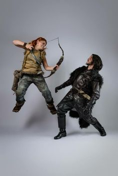 DragonCon 2013 - Ygritte & Jon Snow #GameOfThrones