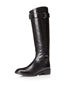 Tory Burch Women's Grace Riding Boot (Black)