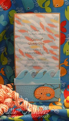 """You're o-fish-ally invited!  For maddy:  """"splish! splash! it's an under the sea bday bash! Swim on over and join the fun, Our baby maddy is turning 1! From under the sea and onto the shore, Join us on april 11th for cakes and more!"""""""