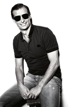 A.C Milan coach Massimiliano Allegri for Dolce and Gabbana *hach*
