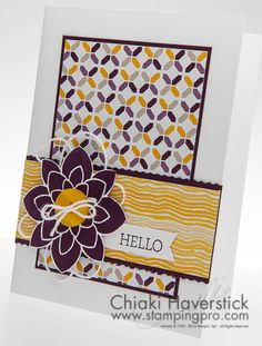 March 2015 Stamp-A-Stack #2: Crazy Blackberry Blossom
