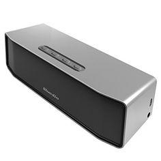 Bluedio BS-2(Chameau) Mini Enceinte Bluetooth Portable Sans fil haut-parleur 3D stéréo Système Sonore Surround musique (Argenté)