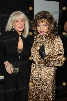 Linda Evans (FN) and Joan Collins (TR)