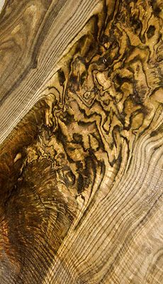 """animal printed wood!"" - Bastogne Walnut"