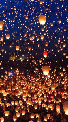 Midsummer night - Lantern festival
