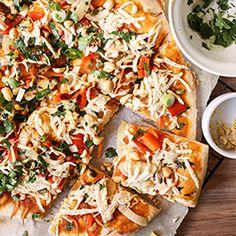 Thai Red Curry Pizza Vegan