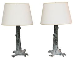 trunk table lamps