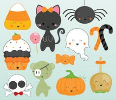 cute halloween clipart - Google Search