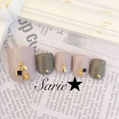 From general topics to more of what you would expect to find here, nail-art-stickers. Pedicure Designs, Gel Designs, Toe Nail Designs, Love Nails, Pretty Nails, Acrylic Toes, Japan Nail, Cute Pedicures, Manicure Y Pedicure