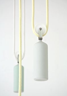Porcelain lamps from Studio WM