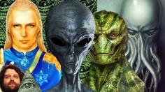 Rasy Kosmitów Odwiedzających Ziemię