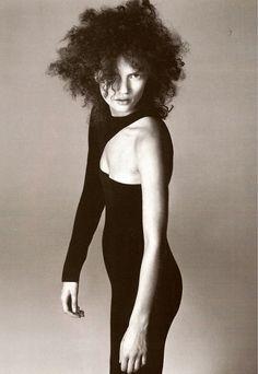 Kate Moss by Richard Avedon - Versace F/W 1996