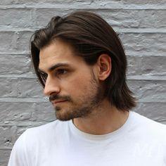 Medium Length Hair Men, Mens Medium Length Hairstyles, Medium Long Hair, Long Hair Cuts, Medium Hair Cuts, Boy Hairstyles, Long Hair Styles, Hairstyle Man, Hairstyles For Round Faces