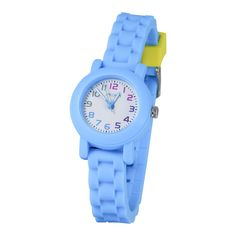 American Design Machine Kids Light and White Dial Analog Watch, Women's