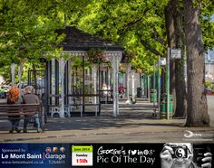As bus terminuses go (or should that read termini), St Peter Port probably has one of the prettiest! #MyGuernsey   http://chrisgeorgephotography.dphoto.com/#/album/cbc2cr/photo/24090181  Picture Ref: 15_06_14 — at St Peter Port, Guernsey.