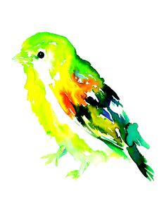 Wee Bird by Jessica Buhman Art Print