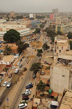 City center, Luanda, Angola.  Photo: Blad M, via Flickr