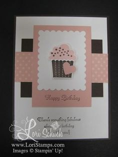 Stampin' Up Create a Cupcake from Lori Schuch