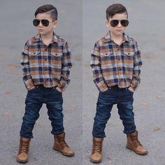 Trends in Boys' Wear Little Boy Outfits, Toddler Outfits, Baby Boy Outfits, Kids Outfits, Toddler Boy Fashion, Little Boy Fashion, Ropa Interior Calvin, Little Man Style, Baby Boy Dress