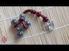 Paracord Fidget Spinner Key Chain Tutorial - YouTube