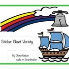 Sticker charts are a great way to motivate students! This pack includes 7 different sticker charts for your classroom!...