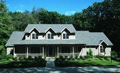 Farmhouse Plan: 2,695 Square Feet, 4 Bedrooms, 2.5 Bathrooms - 402-00233
