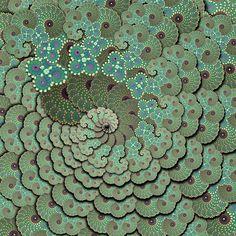 Espiral vegetal by Madreselva61, via Flickr