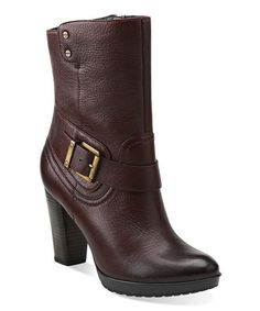 Loving this Burgundy Lida Sayer Ankle Boot on #zulily! #zulilyfinds