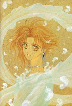 Clamp – Wish History Of Manga, Amber Eyes, Kohaku, Anime Artwork, Shoujo, Clamp, New Art, Wish, Book Art