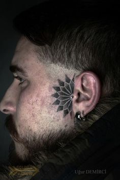 b441a8a39 42 Best Face Tattoo Ideas images in 2017 | Tattoos for men, Body art ...